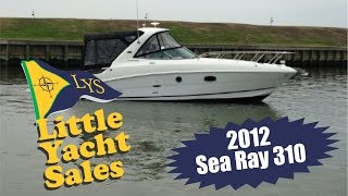 Sea Ray 310 Express cruiser for sale at Little Yacht Sales, Kemah Texas
