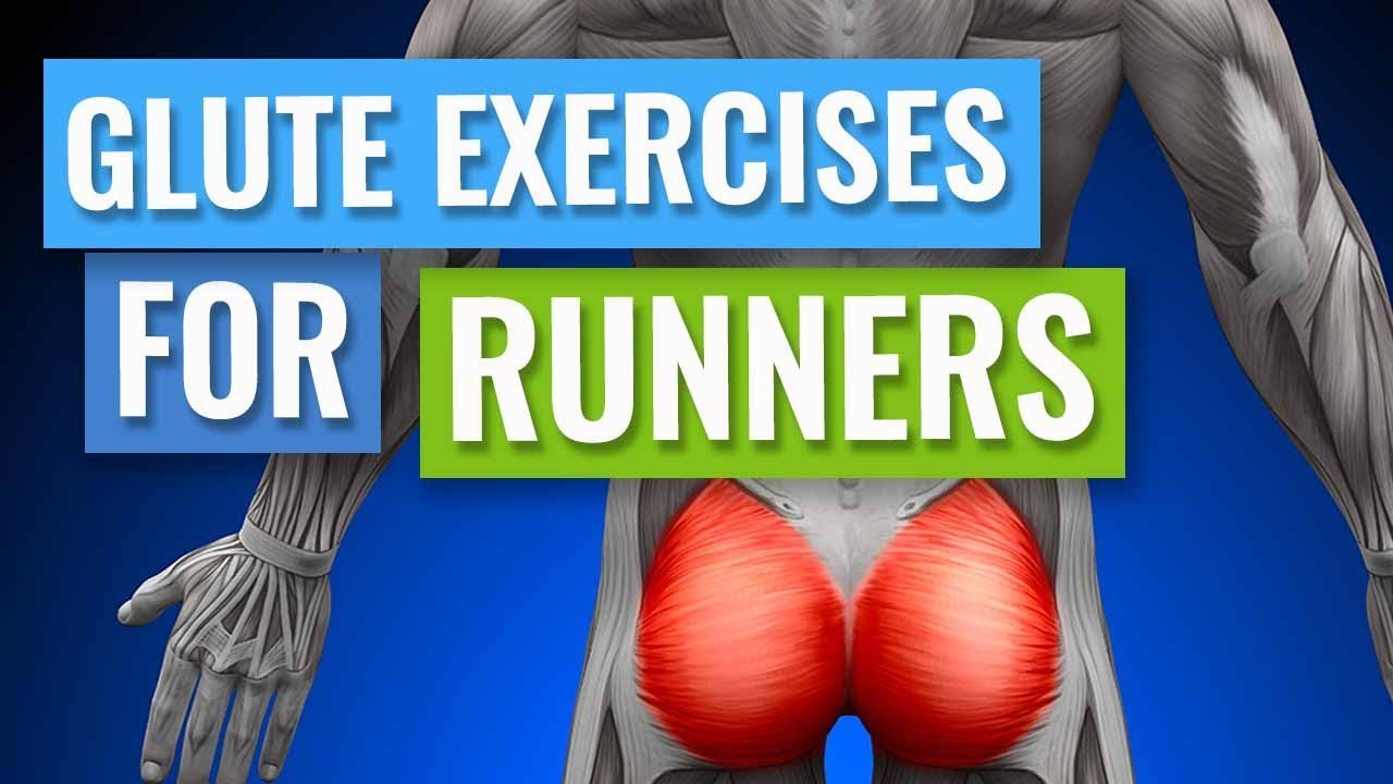 Glute Exercises for Runners - YouTube