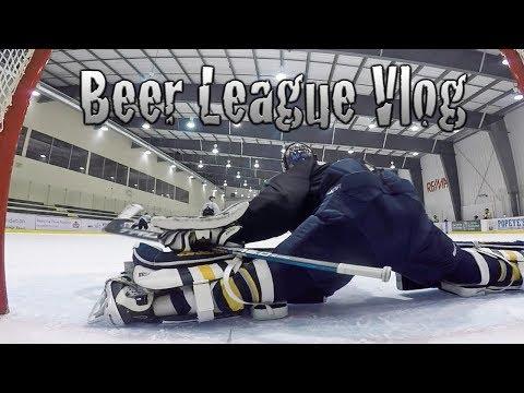 Beer league Hockey Vlog Ep. 1 TRUE Beginnings