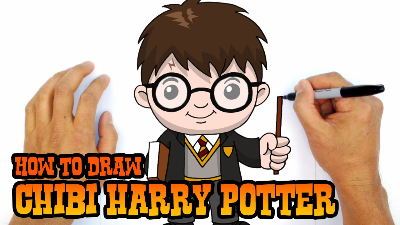 How To Draw Harry Potter Drawing Lesson Youtube