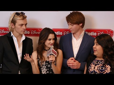 Laura Marano That B Flat with the cast of Austin & Ally | Radio Disney