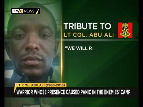 John Jacobs' Tribute to Lt. Colonel Abu Ali