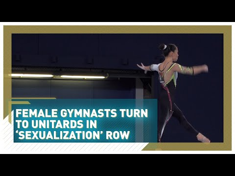 Germany's female gymnastics team turns to unitards amid 'sexualization' row