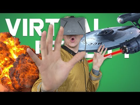 SPACE FIGHTS • Star Trek: Bridge Crew 4 Player Virtual Reality Gameplay
