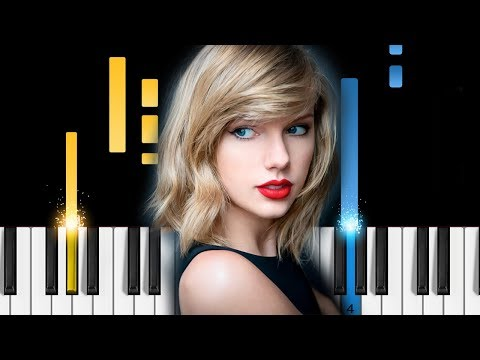 Taylor Swift - New Year's Day - Piano Tutorial - How To Play