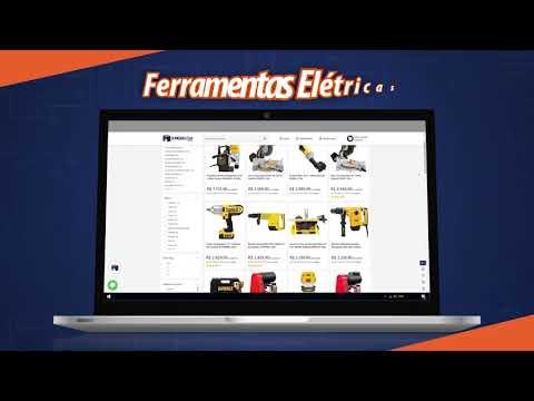 A Mega Loja — Sua melhor loja de ferramentas online!