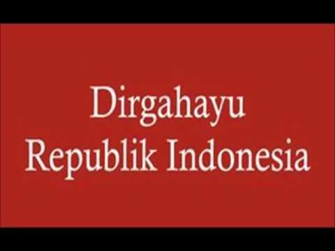 Dirgahayu Indonesia Cipt. Husein Mutahar (Lagu Resmi Hut RI ke-50) HD