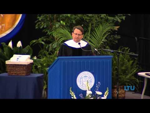 The Honorable Gary Peters 2013 Keynote Speaker at LTU