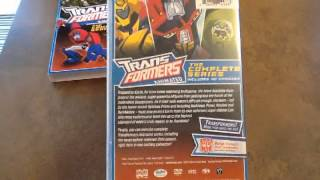 Critique DVD Transformers Animated The Complete series