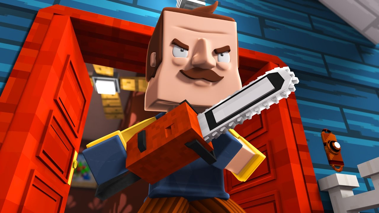 Minecraft No More Fun And Games Hello Neighbor In