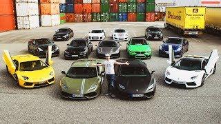 AUTO-FANS statt Auto-Poser! Unterwegs mit 4 Lamborghinis, Ferrari 488, Porsche GT3, Nissan GT-R...