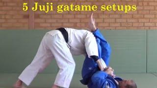 5 juji gatame attacks you should be drilling