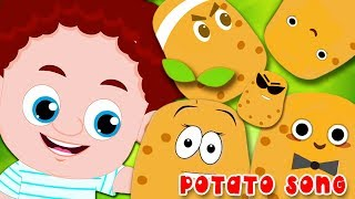 Potato song | Schoolies Video for kids and Children | Fun Sing along Video