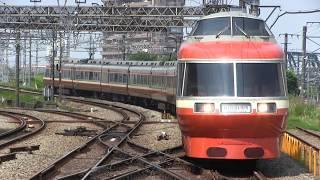 2018/5/18 小田急7000形(LSE) 特別団体専用列車