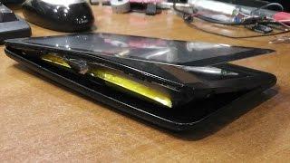Последствия вспухшего аккумулятора. Планшет Irbis TX77