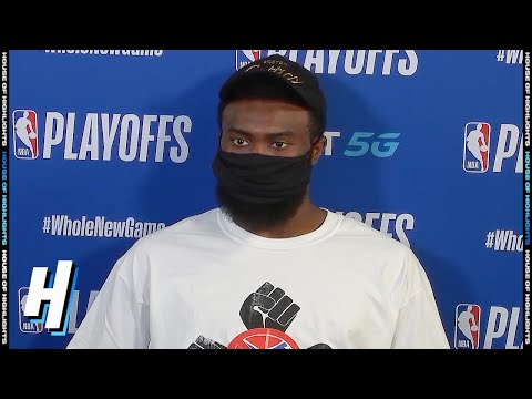 Jaylen Brown Postgame Interview - Game 7 | Celtics vs Raptors | September 11, 2020 NBA Playoffs