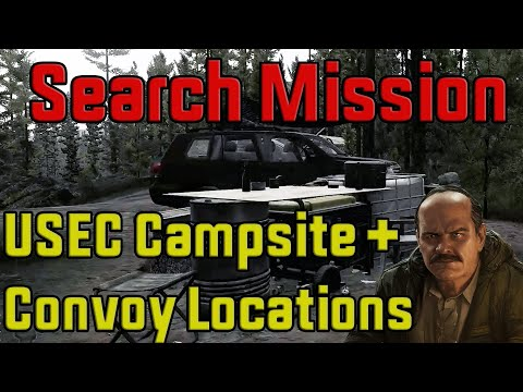 Search Mission - Where to find USEC Campsite + Convoy Locations