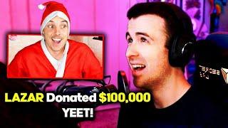 Donating $100,000 For Christmas