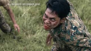 Zombiepura Malaysia Official Trailer 尸杀军营 预告片 || In Cinemas 6 December thumbnail