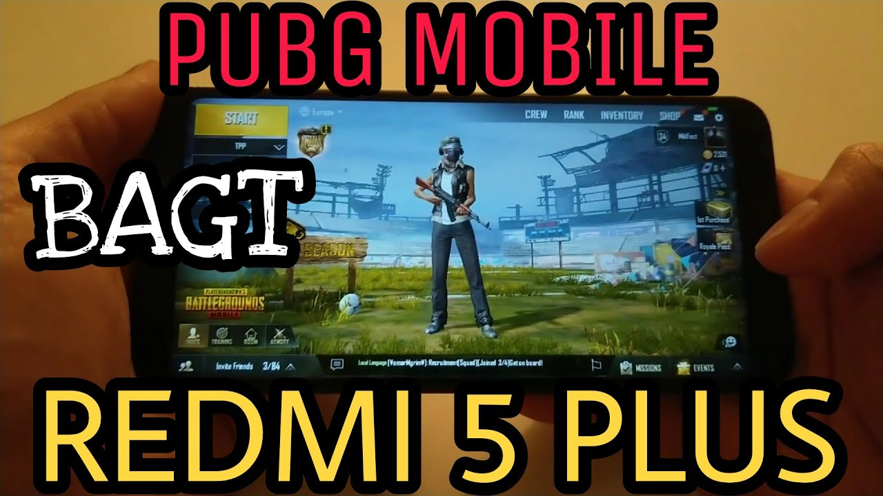 Pubg Wallpaper For Redmi 5: PUBG MOBILE With BAGT