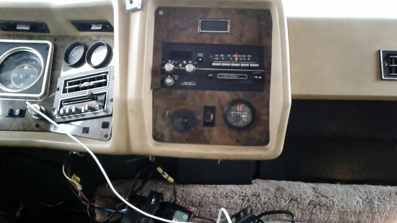 1985 Winnebago Chieftain Wiring Diagram Ecu Toyota Hilux Fuse Box For 1986 Chassis Chevy Youtube