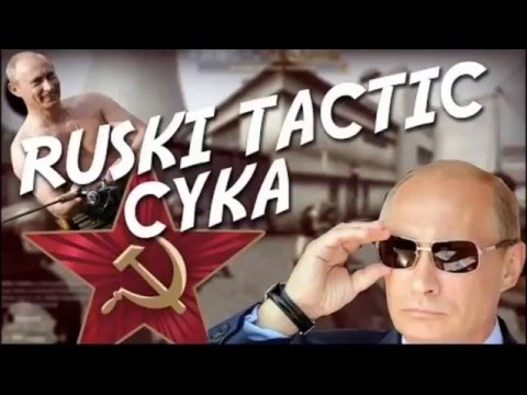 Hello From The Ruski side [CSGO song] [RUSSIAN PARODY] [RUSKI TACTIC CYKA]