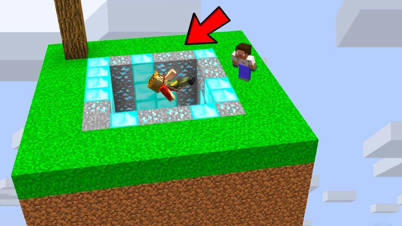 FAKİR ZENGİN'İ UZAY ÇUKURUNA ATTI! - 😱 - Minecraft