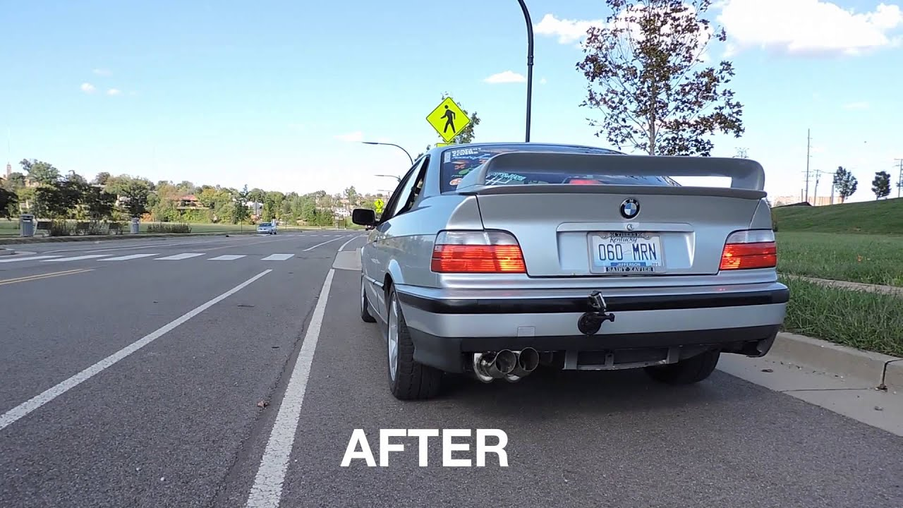 1993 bmw 325is ireland engineering catback exhaust