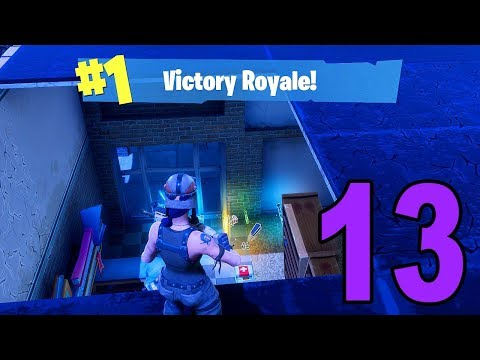 MY FIRST SOLO WIN! - Fortnite Battle Royale (Part 13)