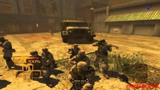 Full Spectrum Warrior PC Gameplay Chapter 7 Part 1/2