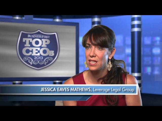 Jessica Eaves Mathews, winner, Albuquerque Business First TOP CEO 2013