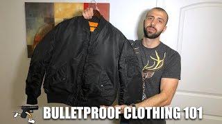 BULLETPROOF CLOTHING 101- Israeli Flight Jacket