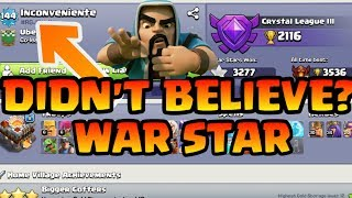 WORLD RECORD THIS PLAYER IS HIGHEST WAR STAR IN CLASH OF CLANS (HINDI)SAM1735