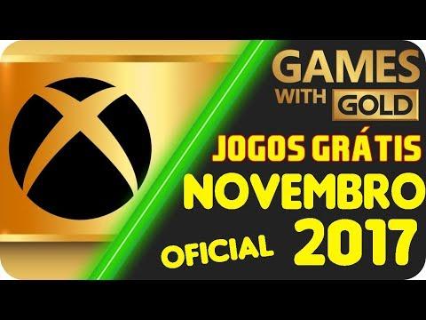 OFICIAL - Jogos Grátis Xbox LIVE Gold NOVEMBRO 2017