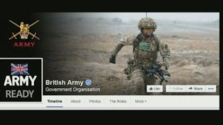 British Army joins social media fight