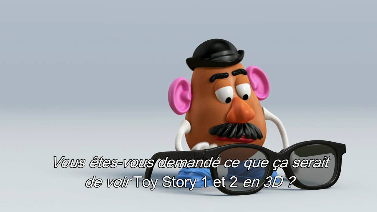 Toy story mr patate vous pr sente la 3d i disney youtube - Monsieur patate toy story ...