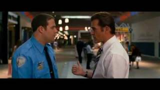 Aziz Ansari in Observe and Report Chick-fil-A Scene