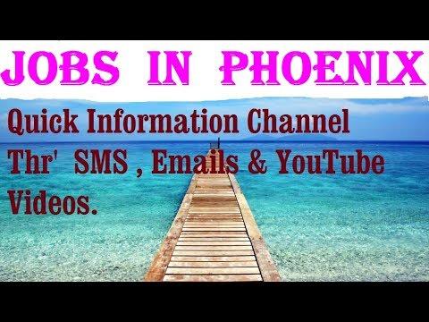 Jobs  in  PHOENIX     City for freshers & graduates. industries, companies.   USA.  AMERICA