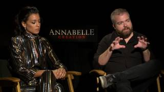 Annabelle: Creation: Stephanie Sigman & David F. Sandberg Official Movie Interview