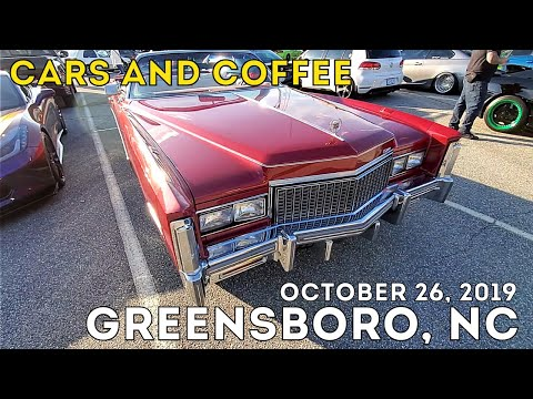 Cars And Coffee Greensboro NC October 26 2019