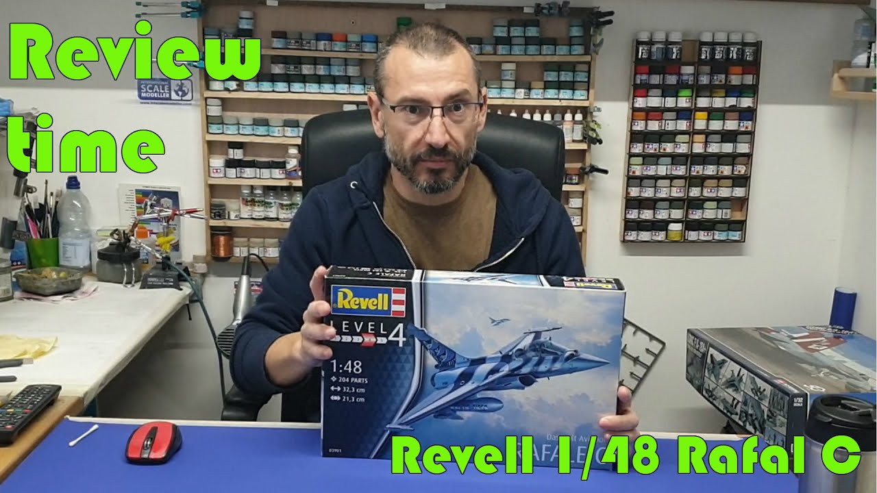 Review Time: Revell 1/48 Rafale C