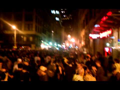 State Street in Boston after we won the Cup...