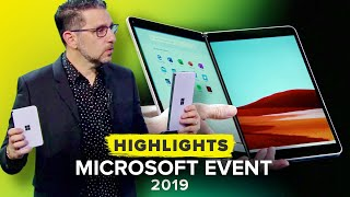 Microsoft's Surface 2019 Event Recap In 13 Minutes