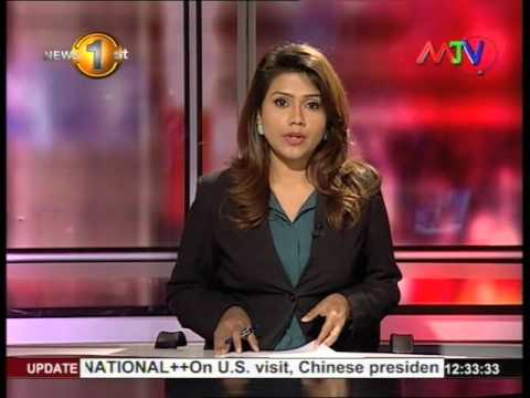 News 1st Prime time Lunch Mtv News 23th September 2015