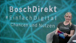 Teil 1 | 16 04 2021 BoschDirekt #EinfachGefragt | Digitalisierung im Handwerk
