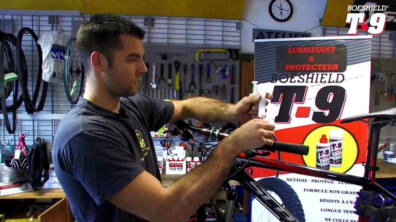 Lubrifiant Vélo T9   Leçon de mécanique   Purger ses freins