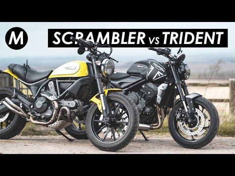 Ducati Scrambler 800 vs Triumph Trident 660: Which Should You Buy?