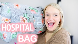 WHATS IN MY HOSPITAL BAG   38 Weeks Pregnant
