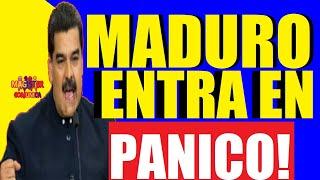 HACE UN MINUTO🔴 MADURO ENTRA EN PÁNICO! - Esto dijo MADURO