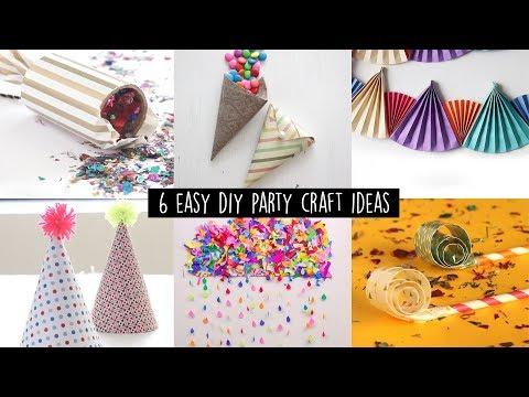 6 Easy DIY Party Craft Ideas